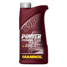 Жидкость син. для ГУР MANNOL Power Steering Fluid 8980, 0,5л пластик Ош