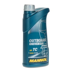 Масло моторное MANNOL 2T мин. Outboard Universal, 1 л Ош