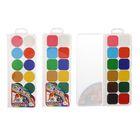 Акварель медовая «РДК», 12 цветов, в пластиковой коробке, без кисти