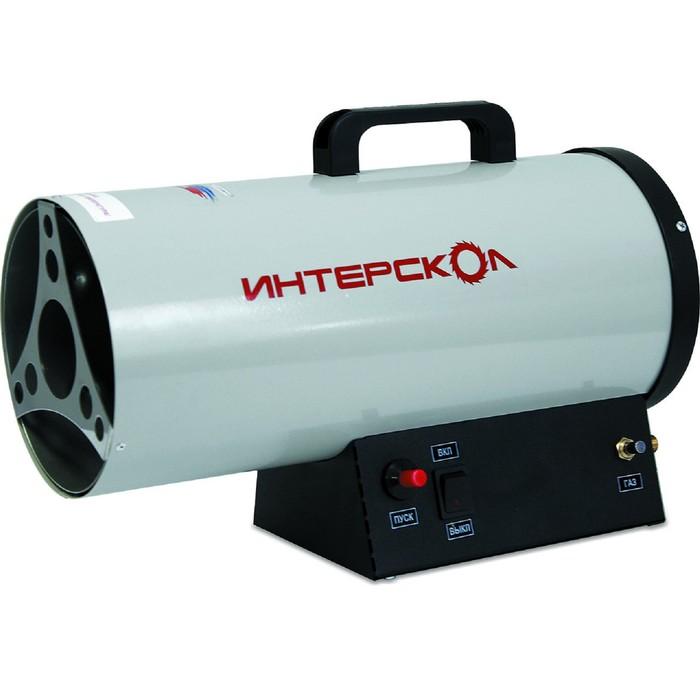 "Тепловая пушка ""ИНТЕРСКОЛ"" ТПГ-10, газовая, 10 кВт, 300 м3/час, пропан/бутан, термостат"