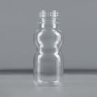 Бутылка одноразовая «Матрёшка», 70 мл, ПЭТ, без крышки, 100 шт/уп, цвет прозрачный