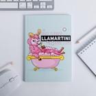 Ежедневник в тонкой обложке LLamartini, А5, 80 листов