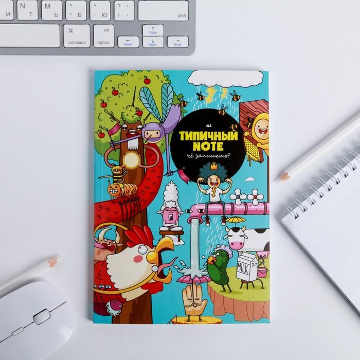 Ежедневник в тонкой обложке Picture А5, 80 листов