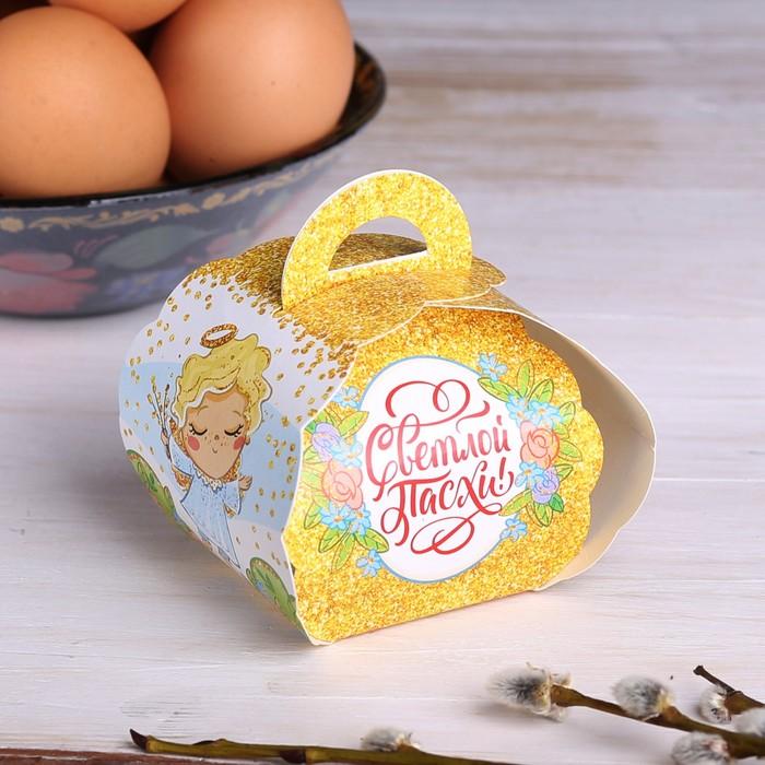 Коробочка подарочная для яйца Ангелок, 25 30 см