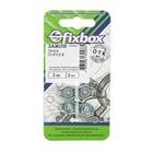 """Зажим троса Duplex  2мм,2 шт """"Fixbox"""""""