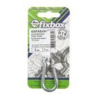 """Карабин усил. DIN 5299   5мм ,1 шт """"Fixbox"""""""