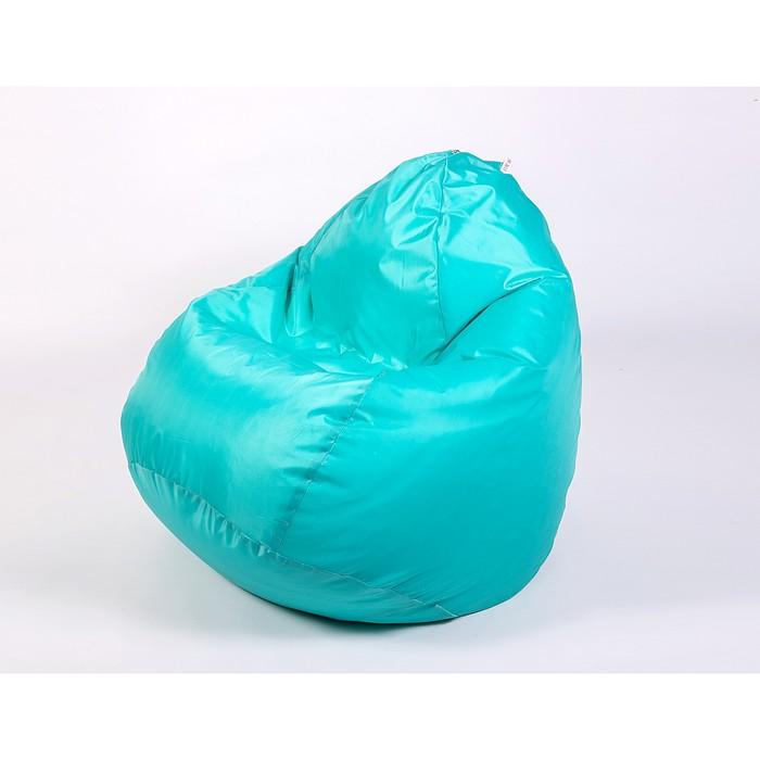 Кресло мешок «Юниор», ширина 75 см, высота 100 см, бирюзовый, плащёвка