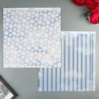 Бумага для скрапбукинга BoBunny - Коллекция «Harmony» - лист «Petals»