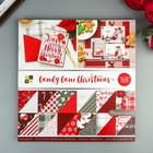 Набор бумаги для скрапбукинга DCWV - Коллекция «Candy Cane Christmas» - 30.5х30.5 см