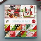 Набор бумаги для скрапбукинга DCWV - Коллекция «Christmas Pals» - 30.5х30.5 см