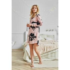 """Домашнее платье-рубашка женское KAFTAN """"Unique"""" розовый, р-р 40-42"""