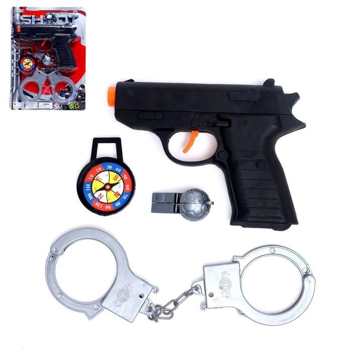 Набор полицейского Патрульный, 4 предмета