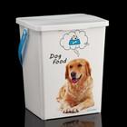 """Контейнер""""Собаки"""" для корма для собак, 8,5 л"""