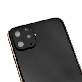 Защитная рамка на камеру для iPhone 10, цвет черный Ош