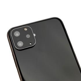 Защитная рамка на камеру для iPhone 10, цвет серебро Ош