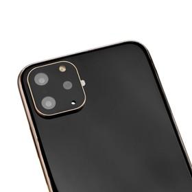Защитная рамка на камеру для iPhone 10, цвет золото Ош