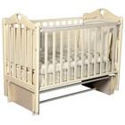 Детская кровать Oliver Bambina Plus, автостенка, универсальный маятник, цвет слоновая кость
