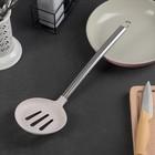 """Шумовка кухонная """"Фолли"""", 35х10,5 см, цвет серый"""