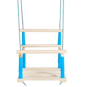 Качели детские подвесные, деревянные, сиденье 33×22см, МИКС Ош