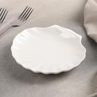 Блюдо сервировочное «Жемчуг», 14,5×14 см, цвет белый - Фото 2