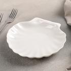 Блюдо сервировочное «Жемчуг», 17,5×16,5 см, цвет белый - Фото 2