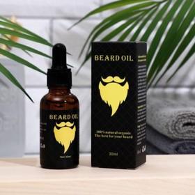 Косметическое масло для бороды и усов 30 мл Ош