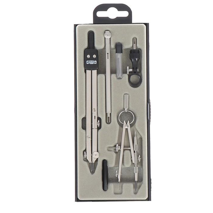 Готовальня Koh-I-Noor 6902, 6 предметов, профессиональная, циркуль 140 мм, в пластиковом футляре