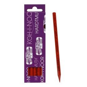 Карандаш цветной цельнографитовый Koh-I-Noor 8750/022 Progresso, в лаке, кирпичный Ош