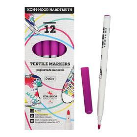 Маркер для ткани 3.0 мм Koh-I-Noor 3203/15, длина письма 500 м, фиолетовый Ош
