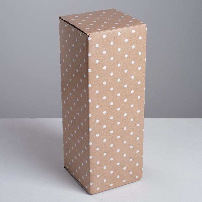 Коробка складная Крафт, 12 х 33,6 х 12 см