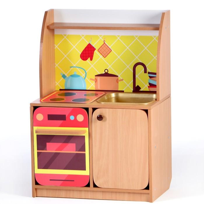 Игровой набор Кухня Машенька мойка МИКС, 684*400*1002, Цветной