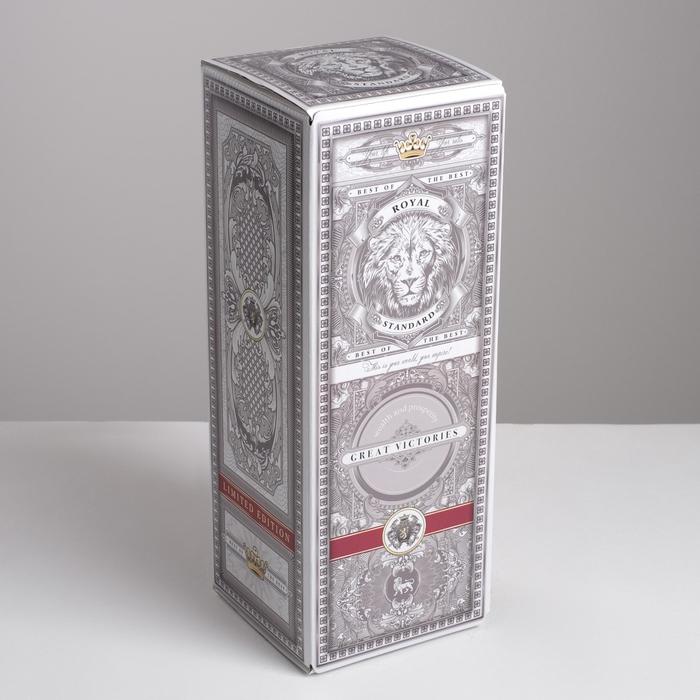 Коробка складная С уважением, 12 х 33,6 х 12 см