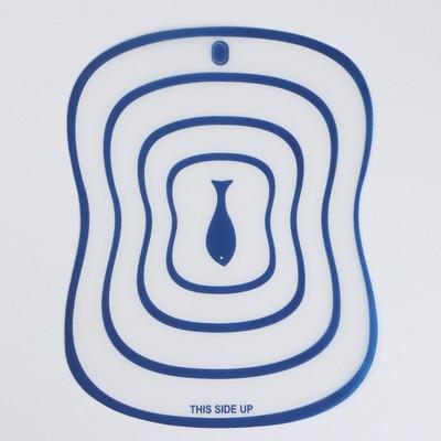 Набор досок разделочных гибких Доляна «Ассорти», 20×14,7 см, 4 шт, цвет МИКС