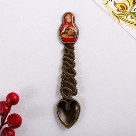 Ложка-матрёшка сувенирная «Русские узоры» Ош