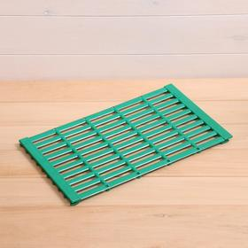 Пластиковый трап от пододерматита, 41,5 × 25 × 0,3 см, МИКС Ош