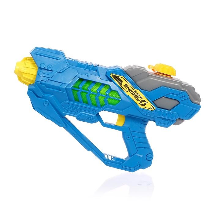 Автоматический водный пистолет «Импульс», работает от батареек, 31 см, цвета МИКС