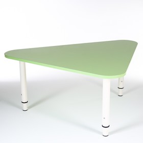 Стол Треугольник растущий гр.0-3 на металлокаркасе, Зеленый степной Ош