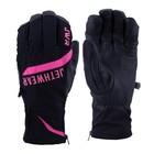 Перчатки Jethwear Empire с утеплителем, чёрный, розовый, L