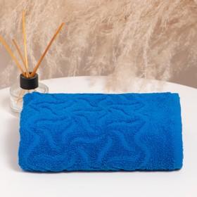 Полотенце махровое «Радуга» цвет синий, 30х70 см, 305г/м2