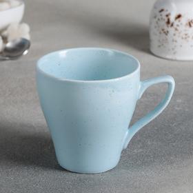 Кружка Доляна «Амелия», 280 мл, цвет голубой