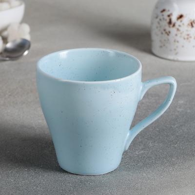 Кружка Доляна «Амелия», 280 мл, цвет голубой - Фото 1