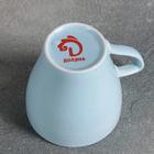 Кружка Доляна «Амелия», 280 мл, цвет голубой - Фото 3