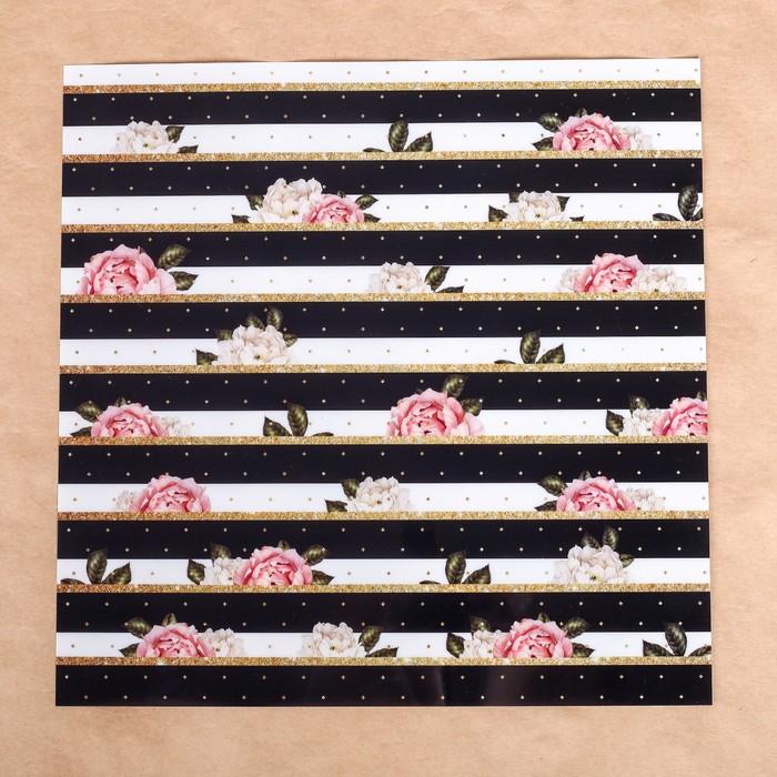 Ацетатный лист «Париж», 30,5 × 30,5 см