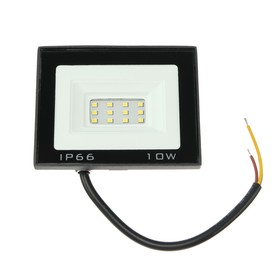 Прожектор светодиодный Luazon Lighting 10 Вт, 800 Лм, 4000К, IP66,  220V Ош