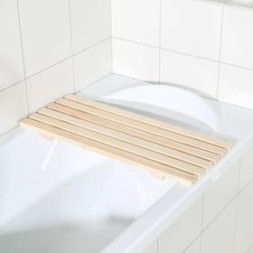 Сиденье в ванну 68×27×3,5 см, цвет бежевый Ош