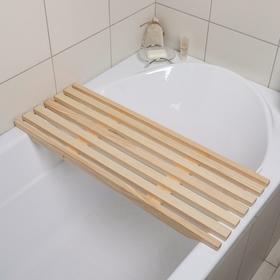 Сиденье в ванну 68×31×4 cм, форма МИКС Ош