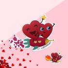 Открытка под конфету «С Любовью» 7 х 9 см