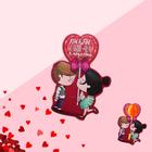 Открытка под конфету «Люблю больше чем сладости» 6,4 х 9 см