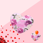 Открытка под конфету «Тебе с любовью» 5,6 х 9 см