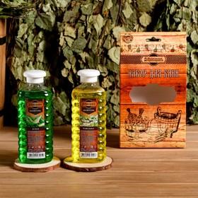 Подарочный набор 'Добропаровъ': шампуни 'Алоэ' и 'Ромашка' Ош